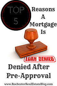 Home Buyer 101: Top FAQs Asked By Buyers Answered! | Top 5 Reasons A Mortgage Is Denied After Pre-Approval