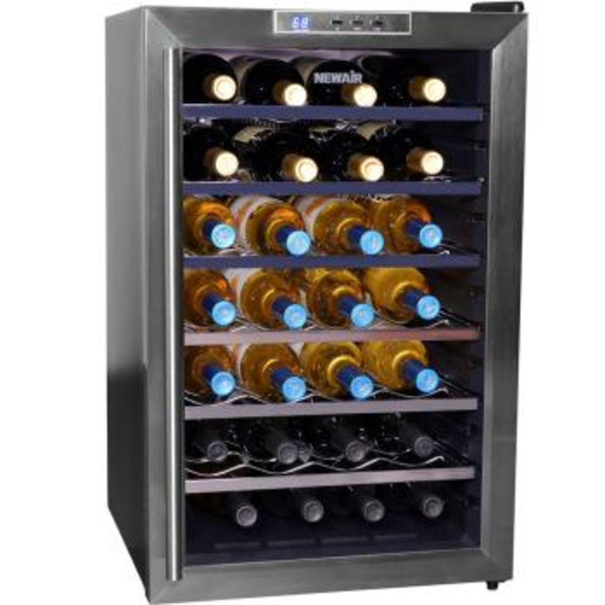 Wine Refrigerator Reviews >> Best Quiet Wine Refrigerator Storage Cabinets On Sale ...