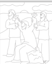 Aish.com Coloring Pages for Parashat Beshelach