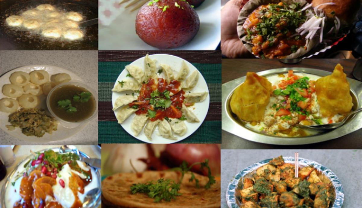 Indian Street Food Items List