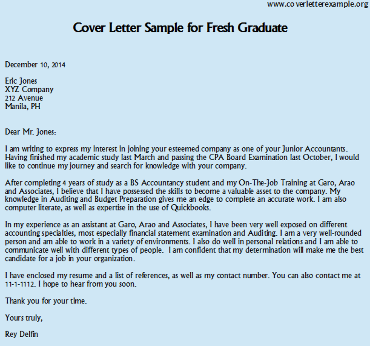 unsolicited application letter of an accountant You can save the document example resume for job application format with unsolicited application letter sample accountant an essay on the above by right clicking on the image and save image.