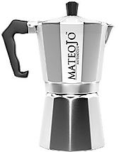 Stovetop Espresso Coffee Maker - 6 Cup Moka Pot - Playful Pack of Flavor - Your Expresso Espresso Maker