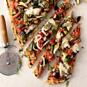 Healthy Homemade Pizza Recipes | Veggie Grilled Pizza