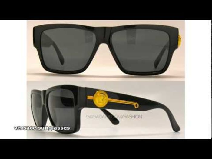 Cheap Mens Biggie Black Versace Sunglasses