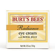 Best Natural Eye Creams for Wrinkles - 2017 Top Picks List and Reviews | Burt's Bees Radiance Eye Cream, 0.5 Ounces