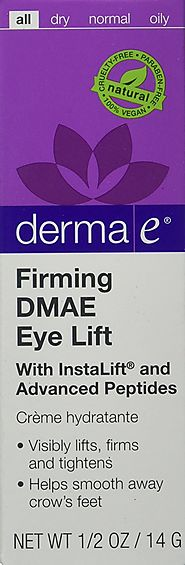 Best Natural Eye Creams for Wrinkles - 2017 Top Picks List and Reviews | derma e Firming DMAE Eye Lift