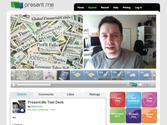Herramientas para crear presentaciones |  Present.me |  software de presentación de vídeo en línea gratis |  Hacer una presentación de diapositivas con su PowerPoint & amp;  cámara web