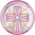 First Communion Decorations and Party Supplies | Communion Pink Plates