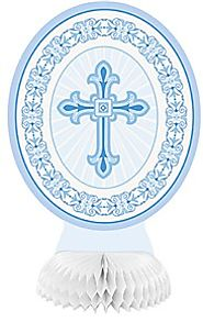 First Communion Decorations and Party Supplies | Blue Honeycomb Decorations