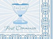 First Communion Decorations and Party Supplies