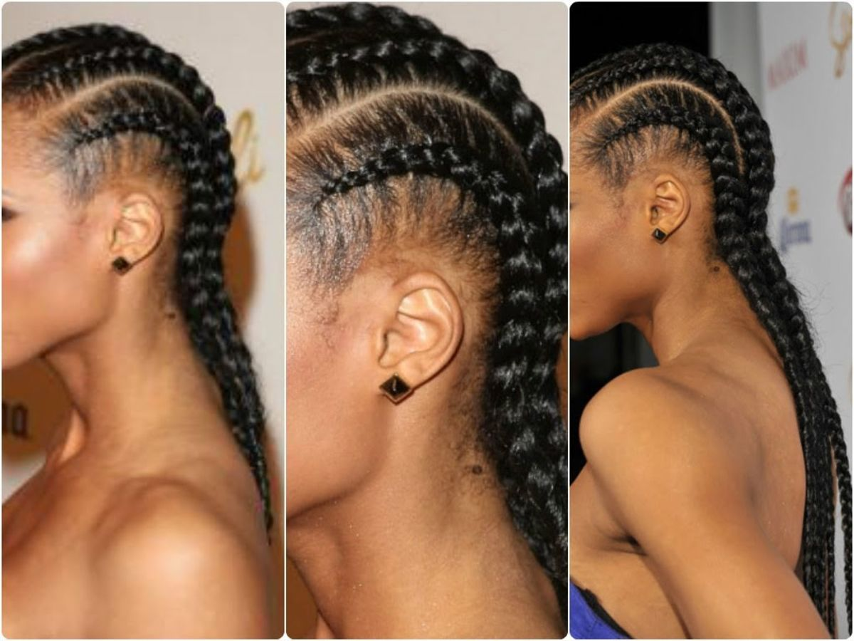 Headline For 10 How To Videos To Teach You The Correct Way To Do Ghana  Braids