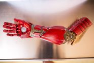 Seven-year-old gets 3D-printed Iron Man prosthetic from Robert Downey Jr.