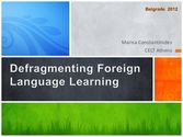 November | 2012 | Defragmenting foreign language learning