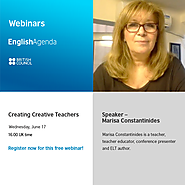 June 17 | 2015 | Marisa Constantinides: Creating Creative Teachers