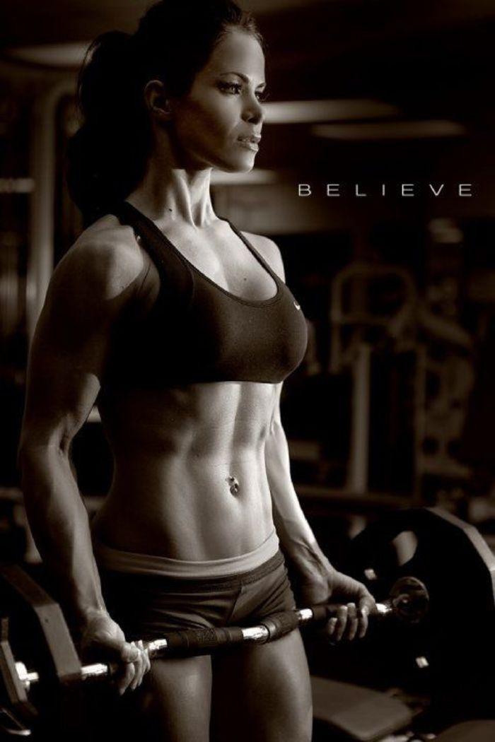 Pics Woman Exercising Nude 51