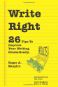 Top Copywriting Books | Write Right: 26 Tips to Improve Your Writing. Dramatically.