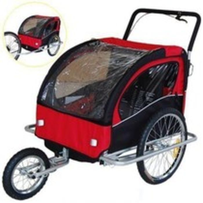 Best-Rated Affordable Double Jogging Stroller Bike Trailers