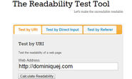 10 Awesome Online Marketing Tools For Content Marketing | The Readability Test Tool