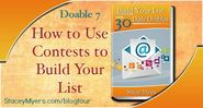 How to Use Contests to Build Your List