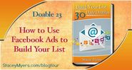 How to Use Facebook Ads to Build Your List - Doable 23 - Marketing Words Blog