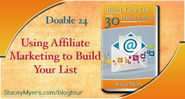 Using Affiliate Marketing to Build Your List - Doable 24