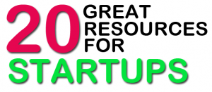 20 Great Resources for Startups