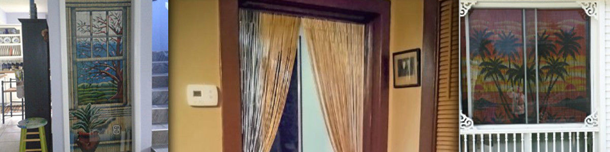Best Rated Bamboo Beaded Door Curtains | A Listly List
