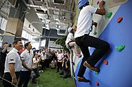 Great Things to do in Singapore | Rock-climbing wall and obstacle course at new Dads Adventure Hub