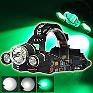 Top 10 Best Green LED Headlamps Reviews 2017-2018