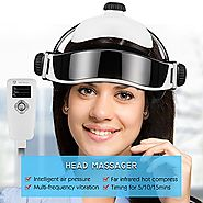 Top 10 Best Electric Head Massager Machines Helmets Reviews 2018-2019