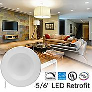 Top 10 Best LED Recessed Lighting Retrofit Kits Reviews 2018-2019