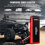 Top 10 Best Portable Car Battery Jump Starter & Power Bank Reviews 2018-2019
