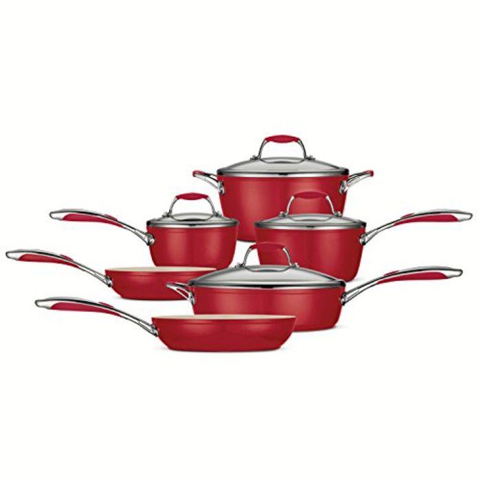 Best Red Calphalon Cookware Sets A Listly List