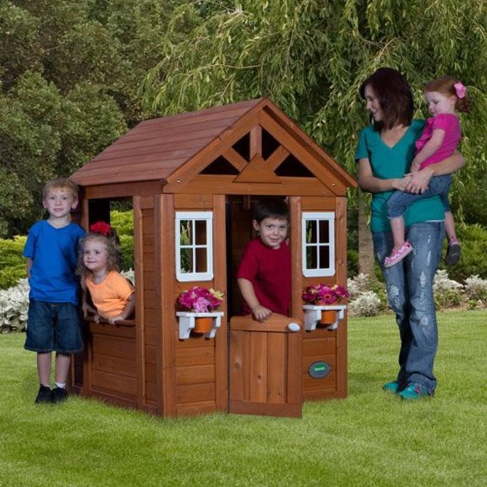 Best-Rated Children's Wooden Outdoor Playhouses For Sale ...