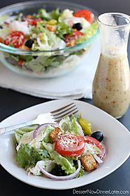 10 Delicious Salad Dressing Recipes | Copycat Olive Garden Salad Dressing
