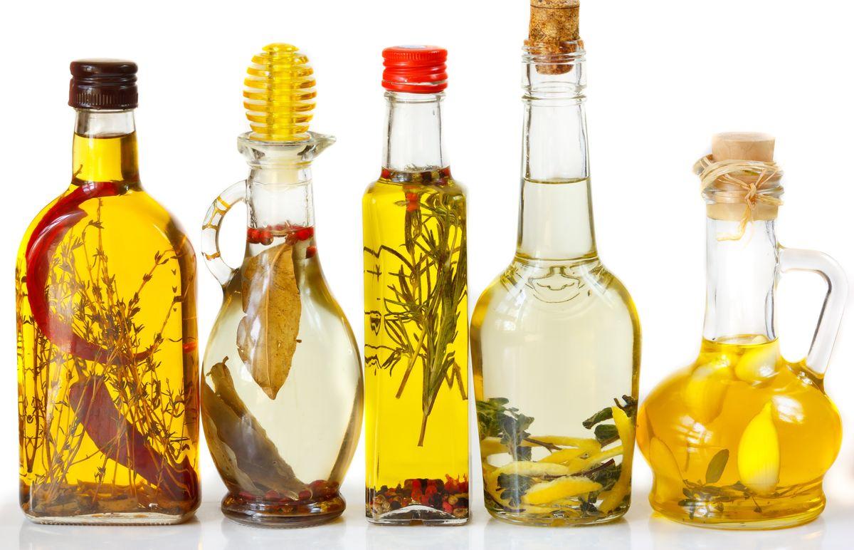 Как сделать ароматизированное растительное масло