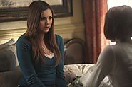Entertainment News | Sob: Nina Dobrev and 'Vampire Diaries' boss talk Elena's emotional exit