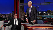 "Entertainment News | George Clooney handcuffs himself to David Letterman: ""You're not going anywhere!"""