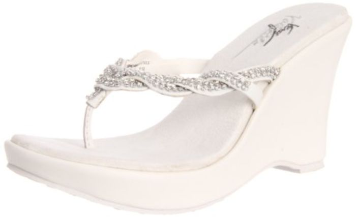 Best White Wedge Flip Flops For Women A Listly List