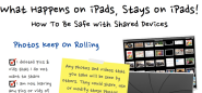 1 iPad Classroom Apps | What Happens on iPads Stays on iPads
