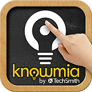 Top 20 ipad apps to flip your classroom in #tabletscourse | Knowmia Teach for iPad