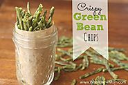 50 Yummy Healthy Snack Recipes for Everyone | Crispy Green Bean Chips