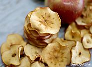 50 Yummy Healthy Snack Recipes for Everyone | Homemade Crunchy Apple Chips Recipe