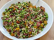 50 Yummy Healthy Snack Recipes for Everyone | Corn and Edamame Succotash