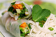 50 Yummy Healthy Snack Recipes for Everyone | Vietnamese-Style Spring Rolls with Shrimp