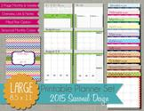 Free Organizing Printables | The Polka Dot Posie: Planner Pages