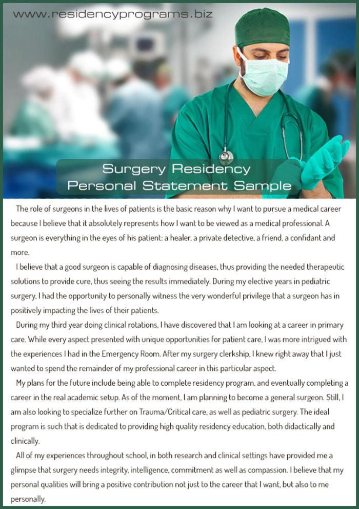 internal medicine pediatrics residency personal statement