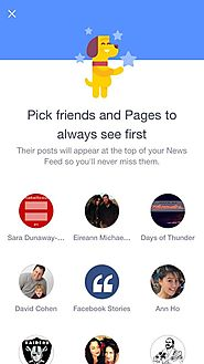 Podsumowanie Tygodnia 5.05 - 11.05.2015 | Facebook Tests Feature Letting Users Pick Pages, Friends They'd Want To See Atop News Feed