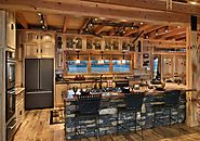 Incredible Kitchen Design | 16 Amazing Log House Kitchens You Have to See - Hick Country™