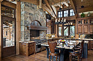 Incredible Kitchen Design | 53 Sensationally rustic kitchens in mountain homes